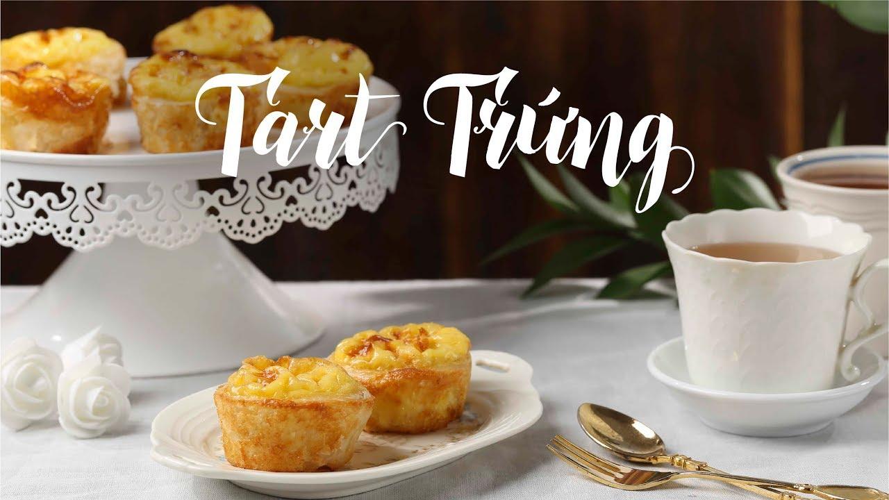 Cách làm Bánh Tart Trứng ngon ăn là ghiền | Hướng Nghiệp Á Âu