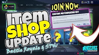 📺MenamesCho's LIVE 🔴 ITEM SHOP UPDATE ✨COUNTDOWN ✨ Custom - Fortnite Battle Royale Tue 9th April