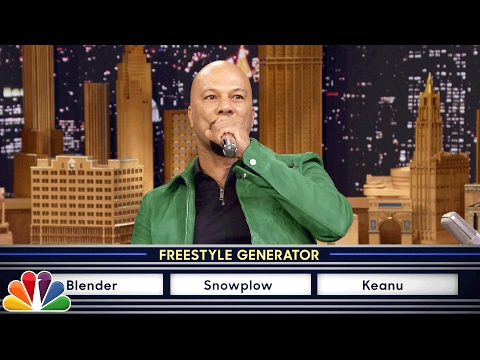 Wheel of Freestyle with Common