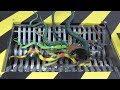 Shredding Machine Crushing: Snake Family Destruction Snake Family Shredded!