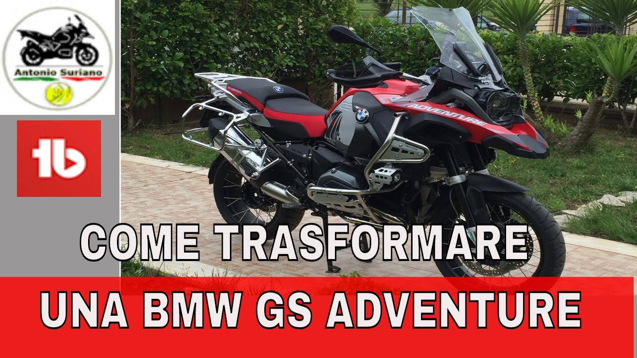 bmw gs 1200 adventure 2016 trasformazione di una gs adventure youtube. Cars Review. Best American Auto & Cars Review