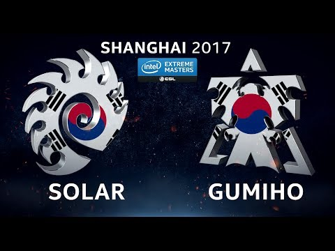 StarCraft 2 - Solar vs. GuMiho (ZvT) - IEM Shanghai 2017 - Closed Global Qualifier - QM