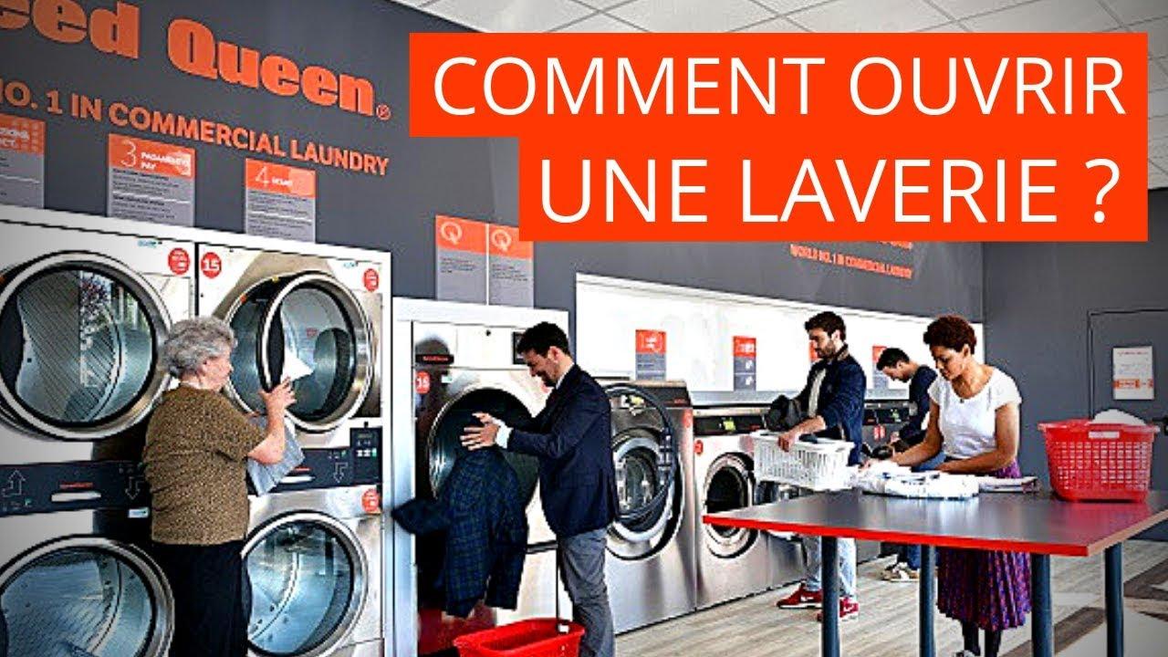 comment ouvrir une laverie automatique youtube