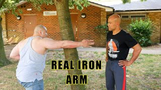 How to turn your arm into Real iron arm part 1 - Master Wong