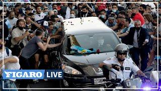 ⚽ «Adieu au plus grand»: les aurevoirs de l'Argentine à la légende Maradona