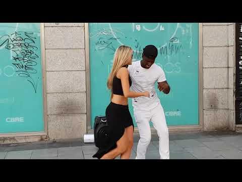 Peruano ofrece bailar salsa cubana Espa�ola espontanea se une bailando timba cubana Madrid timbera