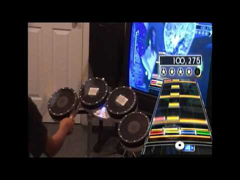 Reptilia - Rock Band 2 Expert Drums - 100%, FC & 5G* - Rawk SD custom song (from RB1) [HD]