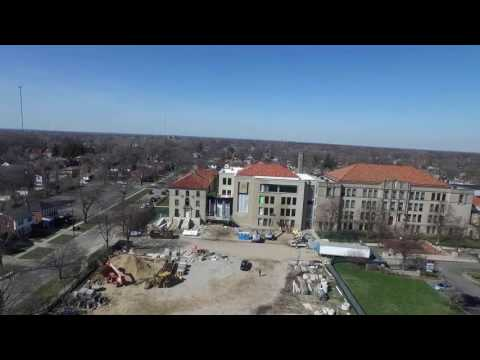 New Science and Engineering Center at University of Detroit Jesuit High School and Academy