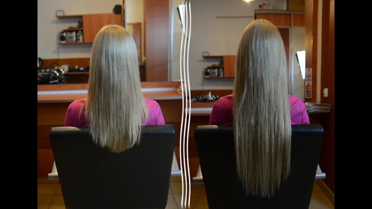 Zupełnie nowe przedłużanie i zagęszczanie włosów metodą keratynową - YouTube LG76
