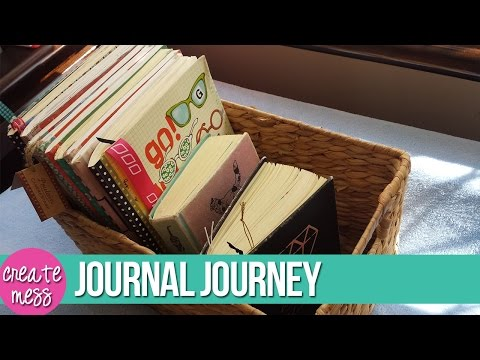 How I Journal | Written Journal Journey Over The Years