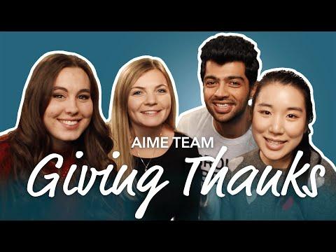 aime-team-giving-thanks