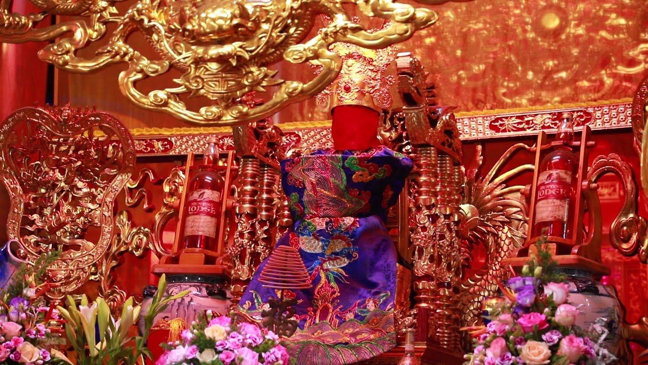 Đền Tranh Giang Linh Từ / Đền Bờ Sông Tranh / Đền Thờ Quan Lớn Tuần Tranh đẹp nhất 2020