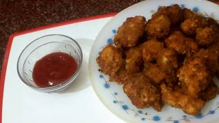 Chicken Nuggets Recipe  / Crispy  Fried  Chicken Nuggets / KFC STYLE /Syed Asma