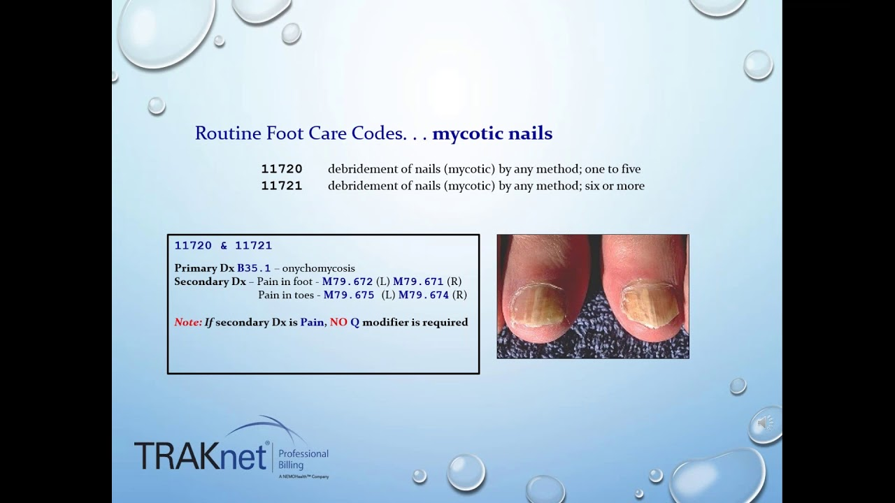 Podiatry Billing & Coding for Success