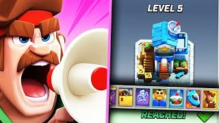 HQ LEVEL 5 - 20.000 GOLD SI AIRDROP NOU - RUSH WARS!
