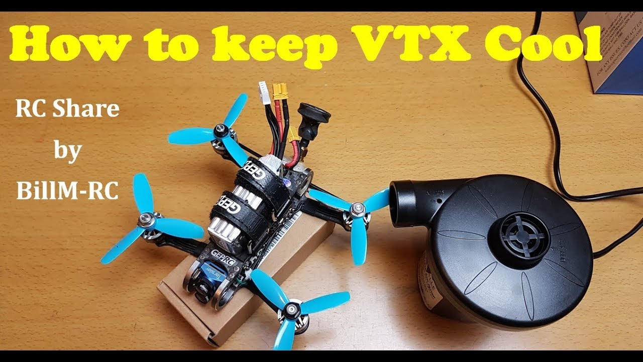 How to keep vtx cool - RC Share by Bill M - RC - Bill M - RC