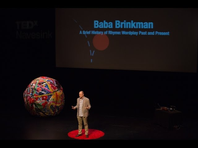 A brief history of rhyme | Baba Brinkman | TEDxNavesink