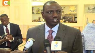 Ruto in Chad to Lobby for CS Mohamed for AUC Seat