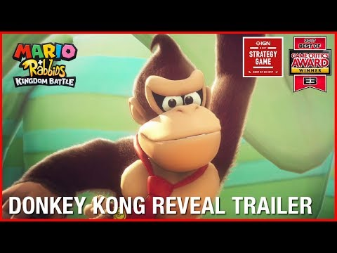 Download Youtube: Mario + Rabbids Kingdom Battle: Donkey Kong Reveal Trailer | Ubisoft [US]