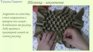 Буфы. техника шитья. Урок 6