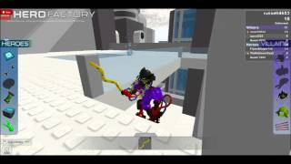 ROBLOX - LEGO Hero Factory Breakout Gameplay