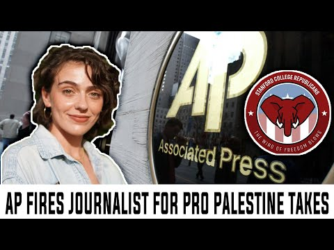 Associated Press FIRES Journalist For Pro-Palestine Views