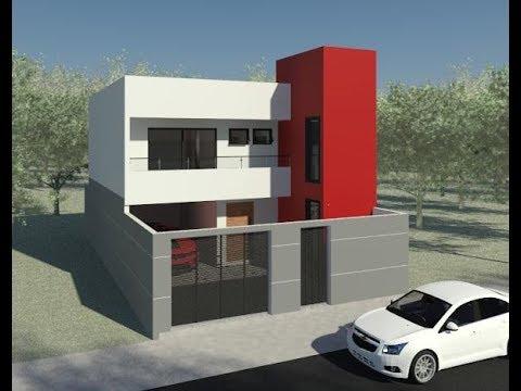 Sobrado maycon valinhos sp 8x15 165m 1 su te for Casa moderno kl