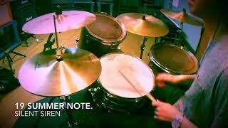 SILENT SIREN 19 summer note. Drum Cover ドラム