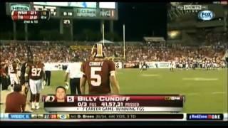 Redskins vs Buccaneers 2012-2013