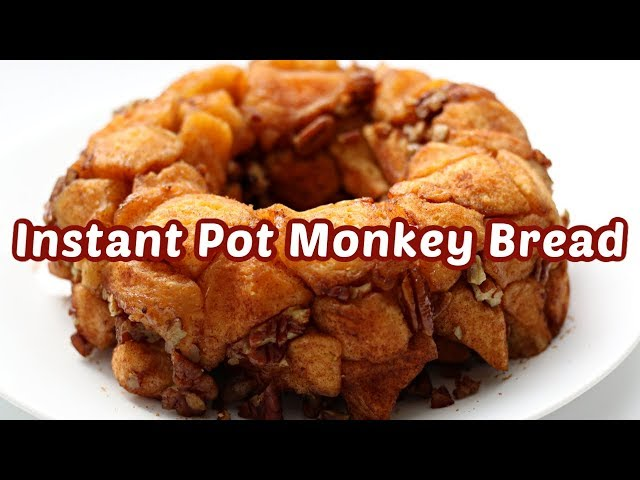 Instant Pot Monkey Bread Step By Step Instant Pot Recipe Youtube