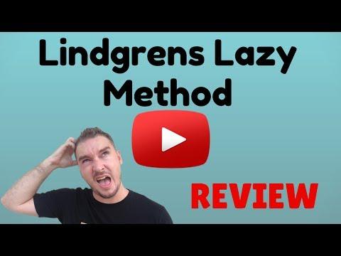 lindgrens lazy method review & BONUS