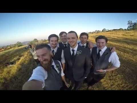 Chris & Mel Beautiful Wedding - GoPro Video