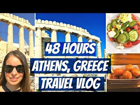 48 Hours In Athens, Greece - Travel Vlog #8