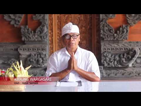 Kidung Wargasari - Kumpulan Kidung Dewa Yadnya Pura Puseh Desa Adat Denpasar