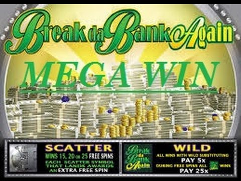 MEGA WIN OVER 1400x Win On Break Da Bank Again Slot