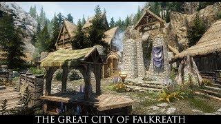 TES V - Skyrim Mods: The Great City Of Falkreath