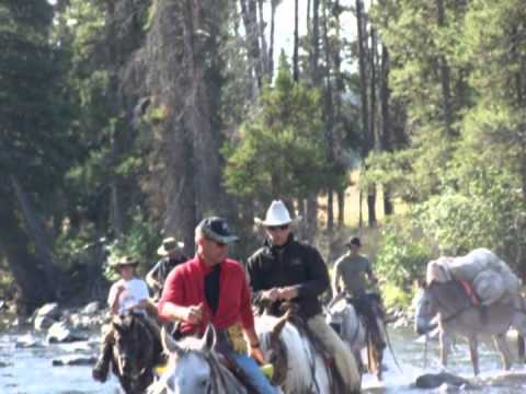 Backcountry fishing trip in the Lamar River Canyon in Yellowstone National Park