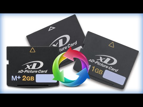 Xd Card Pictures Recovery Restore Lost Xd Card Data Youtube