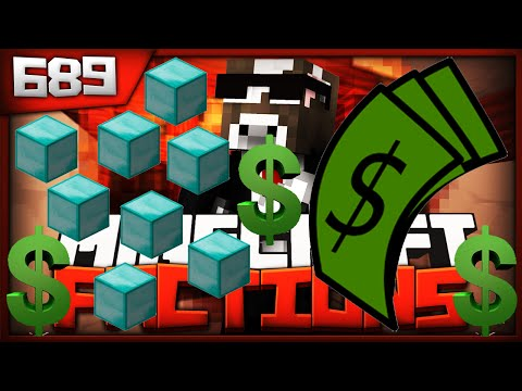 Minecraft FACTIONS Server Lets Play - RICHEST MAN HAS 400 MILLION $! - Ep. 689 ( Minecraft Faction )