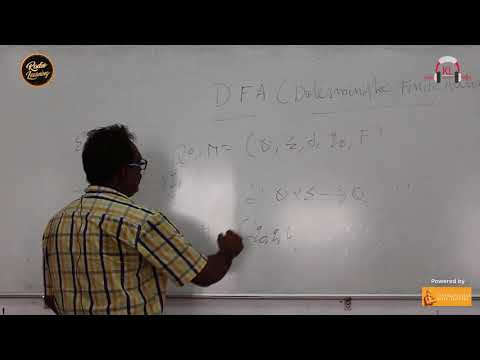 Radio Learning: Video Lecture on Theory Of Computation by Dr.G Shaam Prasad  & Dr.Anitha | KL RADIO