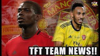 Shocking Team News! Manchester United vs Arsenal | The Football Terrace