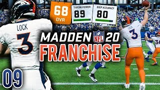 Madden 20 Franchise (Y1:G8) Ep.9 - Starting Debut of Rookie QB Drew Lock