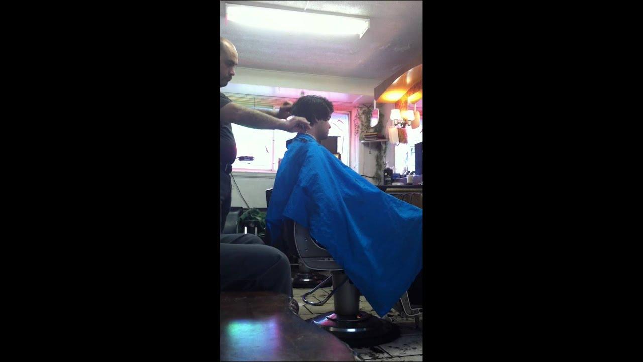 another montreal basement barbershop haircut youtube