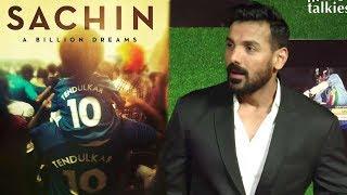 John Abraham's Reaction On Sachin Tendulkar's Movie
