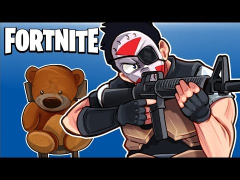 FORTNITE BR - SAVING TEDDY BEAR AND INVISIBLE WALL GLITCH! (My Old Unused Clips!)