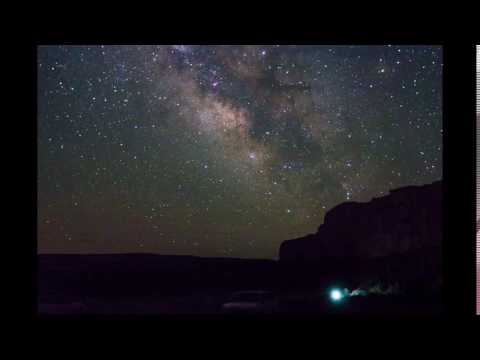 Milky Way Time-lapse, Chaco Canyon
