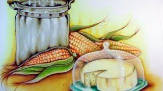 Panela Milho Queijo e Transparência