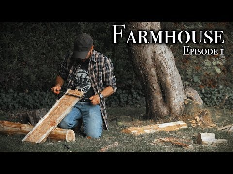 THE FARMHOUSE EP.1 - Working at our 109 Year Old Homestead.