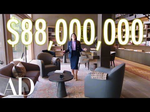 Inside An $88M Bel Air Mansion With A Hidden Car Elevator | On The Market | Architectural Digest