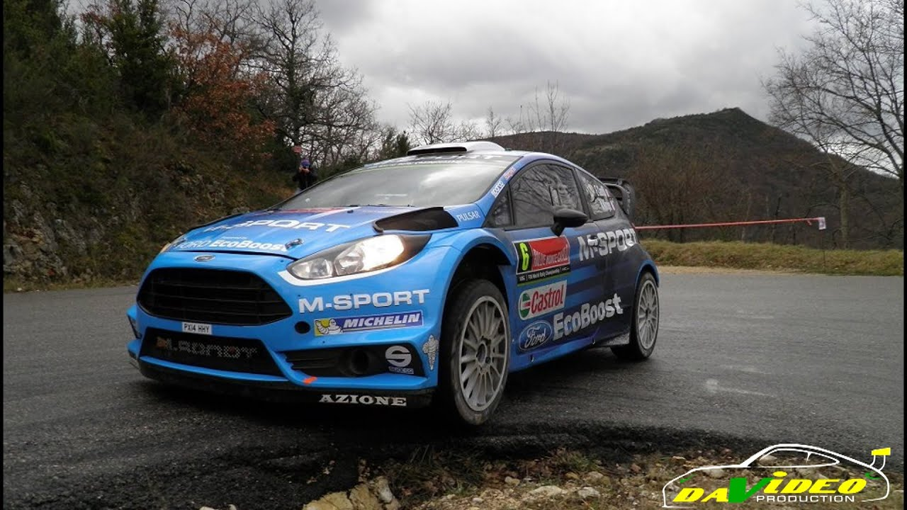 rallye monte carlo 2016 test camilli ford fiesta wrc youtube. Black Bedroom Furniture Sets. Home Design Ideas